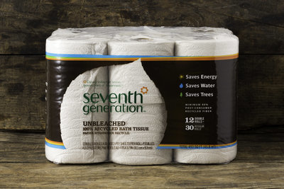 Thumb 400 seventh generation natural unbleached bath tissue 12 rolls 12 rolls