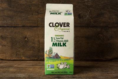 Thumb 400 clover organic lowfat 1 milk gal