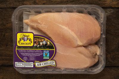 Thumb 400 mary s free range chicken boneless skinless chicken breasts 1 25 lb