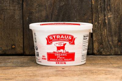 Thumb 400 straus creamery organic plain whole milk yogurt 16 oz
