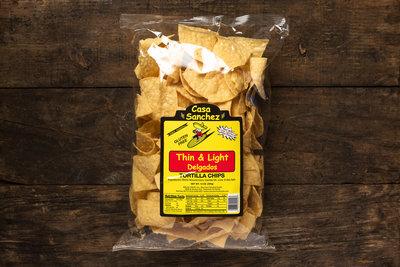 Thumb 400 casa sanchez tortilla chips thin light 14 oz
