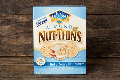 Thumb 400 blue diamond almond nut thins hint of sea salt 4 25 oz