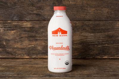 Thumb 400 new barn organic almond milk sweetened 28 oz