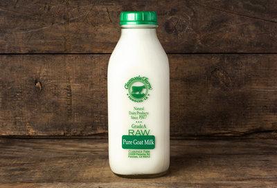 Thumb 400 claravale farms raw whole goat milk quart