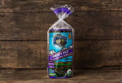 Thumb 400 lundberg family farms organic brown rice cakes salt free 8 5 oz